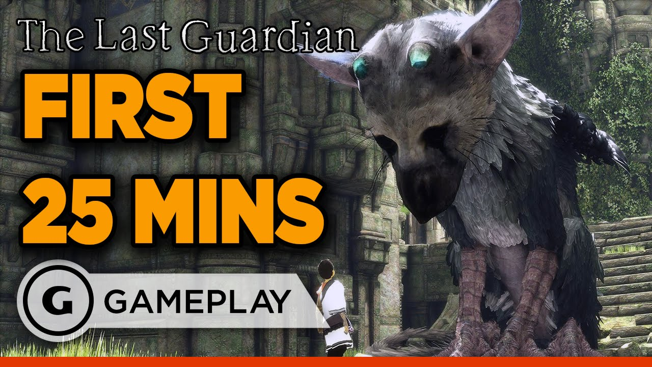 The First 25 Minutes of The Last Guardian