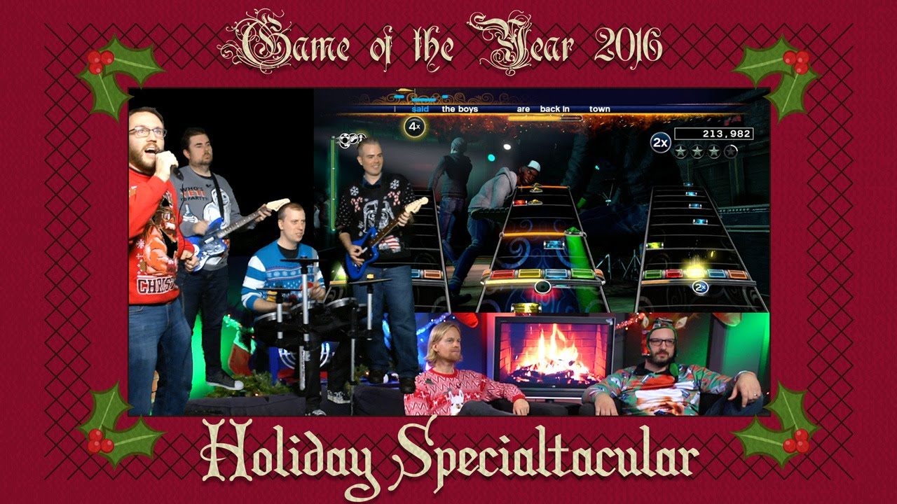 Holiday Specialtacular 2016: Rockin' Around