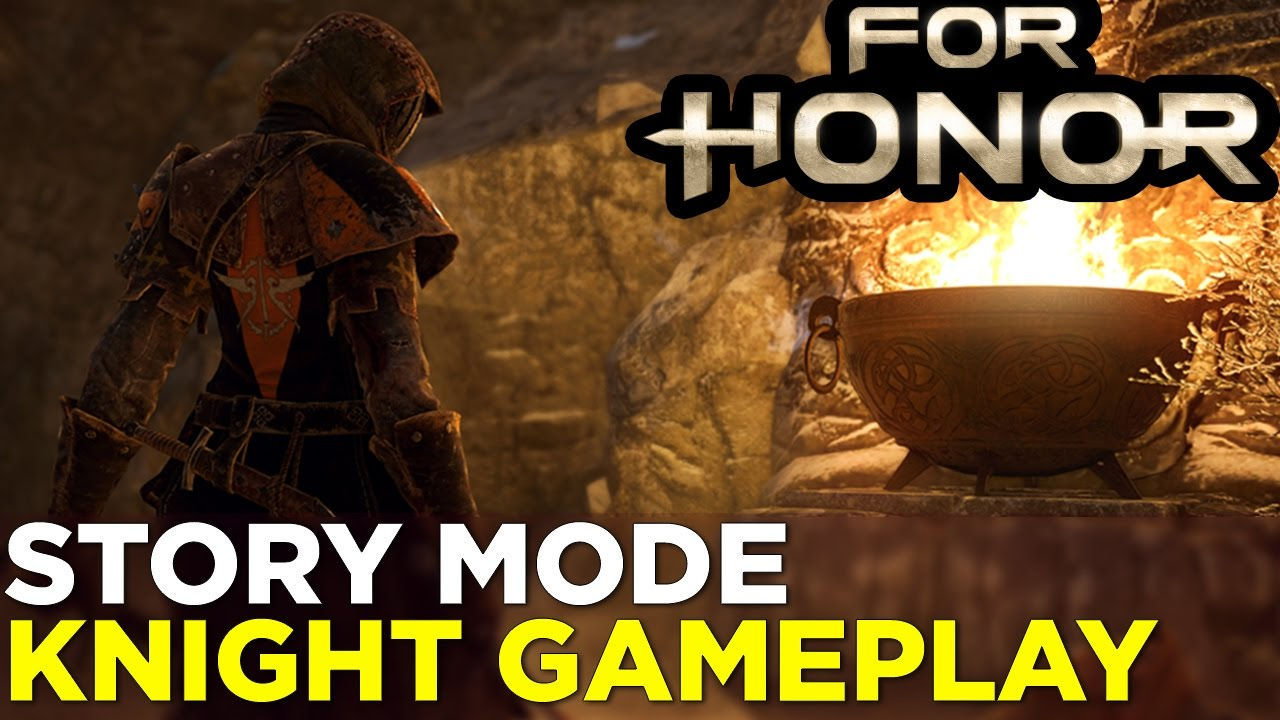 18 Minutes of FOR HONOR Knight Assassin Campaign Gameplay