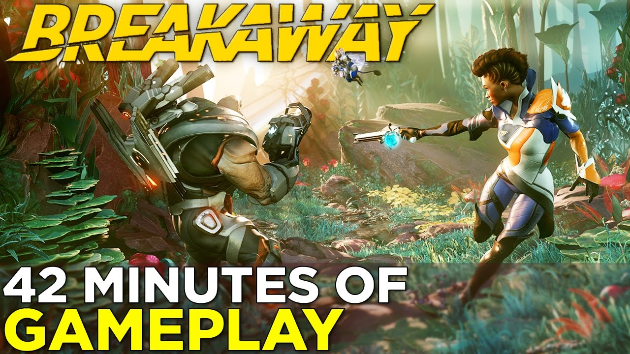 Breakaway — 42 Minutes of GAMEPLAY + New Maps & Characters!
