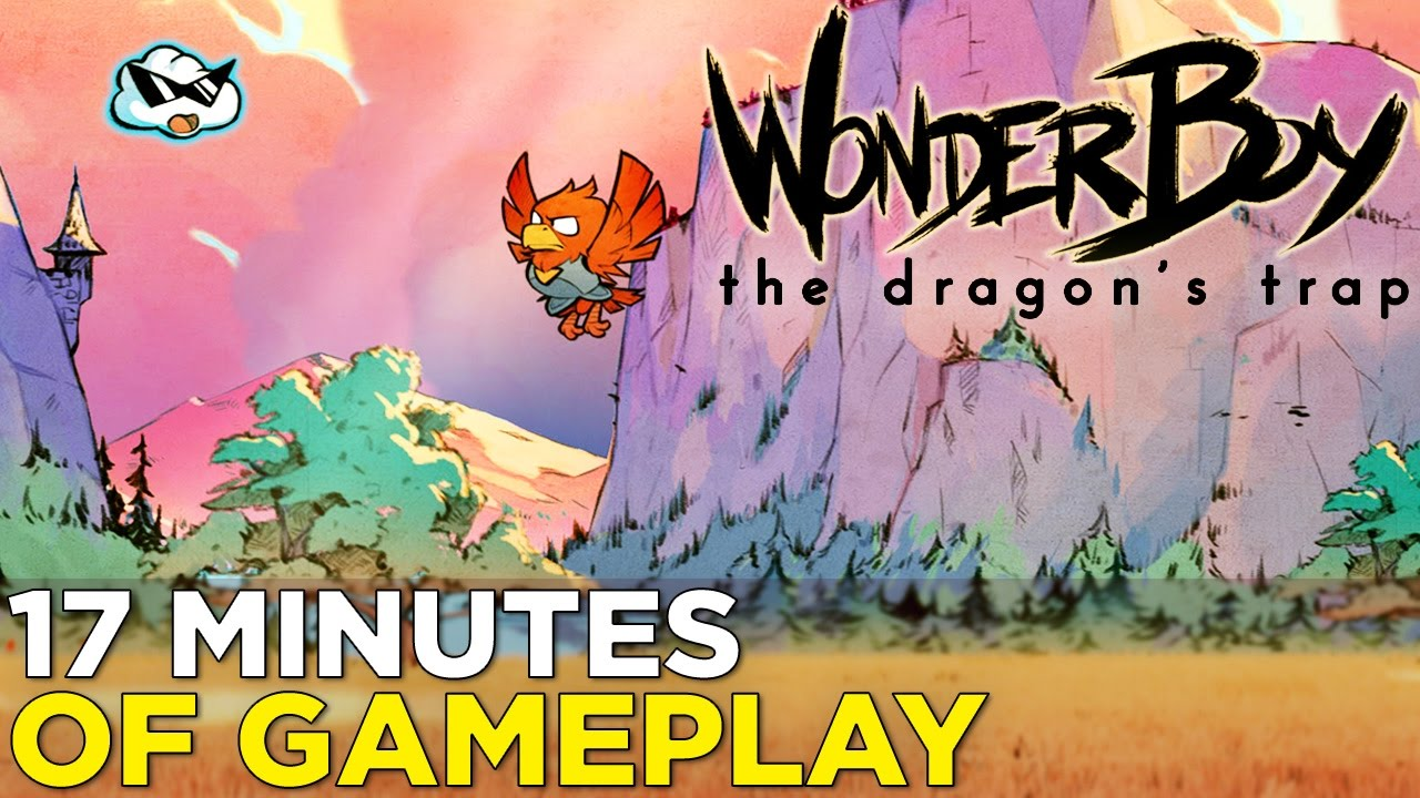 17 Minutes of WONDERBOY: THE DRAGON'S TRAP Remake Gameplay
