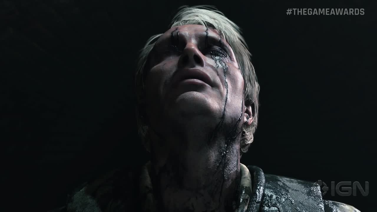 Death Stranding: Mads Mikkelsen Game Awards Announcement Trailer