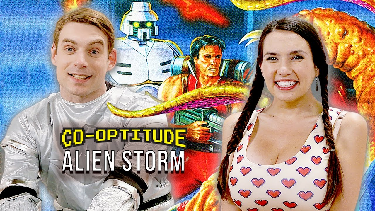 Let's Play Alien Storm for Sega Genesis! (Co-Optitude)