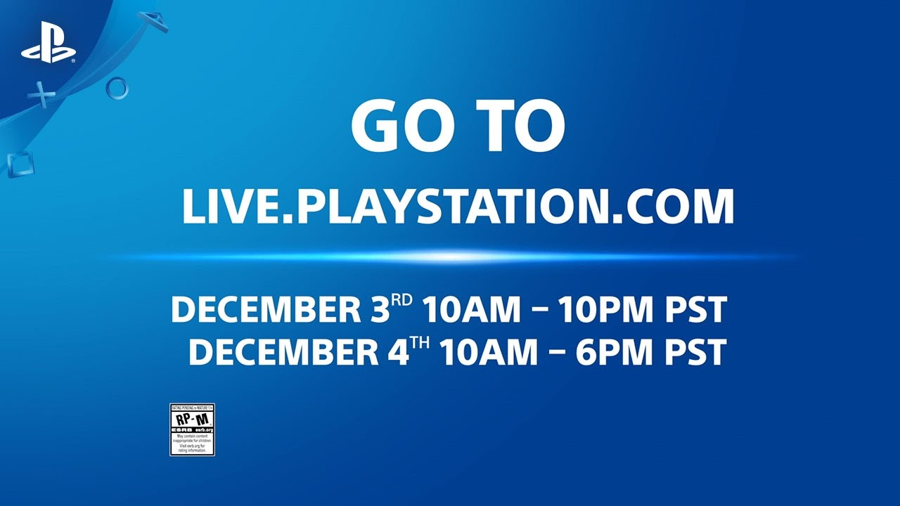 Live.PlayStation.Com – PlayStation Experience 2016