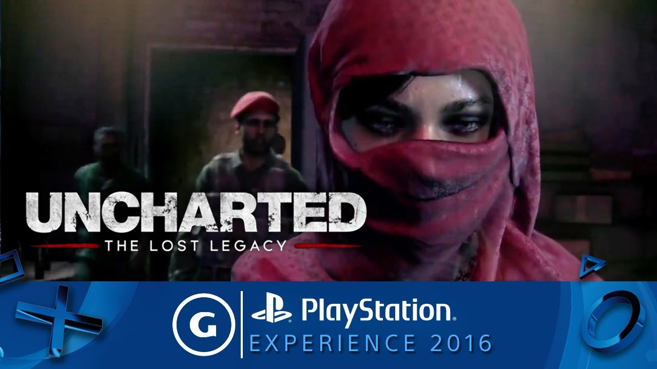 Uncharted: The Lost Legacy Official 4K Reveal Trailer | PSX 2016