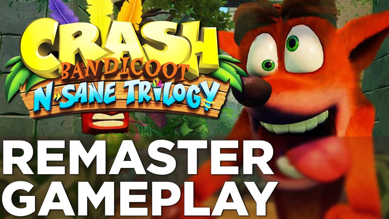 CRASH BANDICOOT N. Sane Trilogy Remastered Gameplay