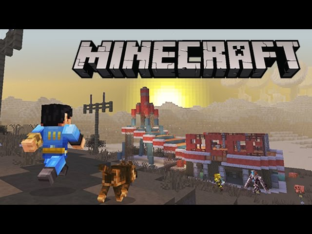 Minecraft: Console Edition – Fallout Mash-Up Pack Teaser Trailer