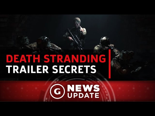 New Death Stranding Trailer Hides Clues and Red Herrings – GS News Update