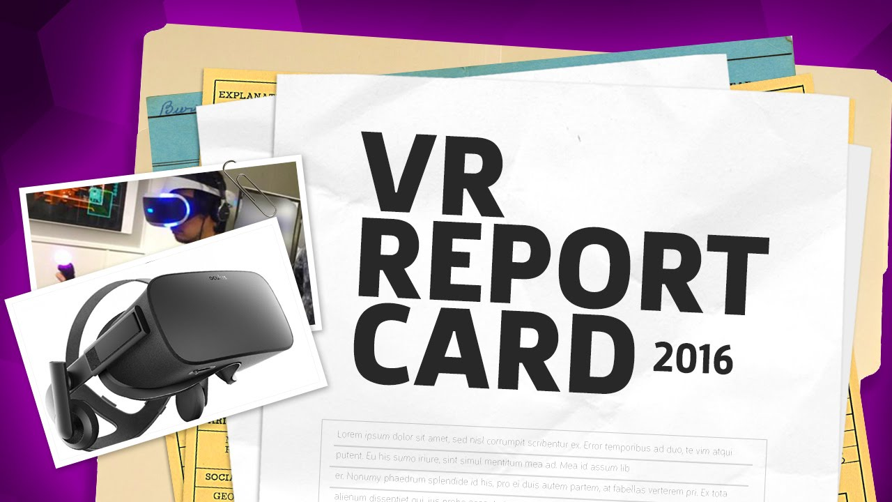 Year in Review 2016: VR Report Card – The Lobby