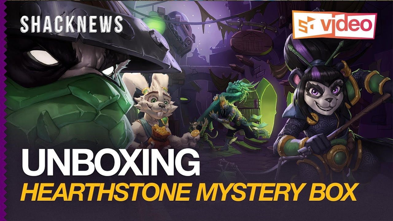 Unboxing: Hearthstone Mystery Box