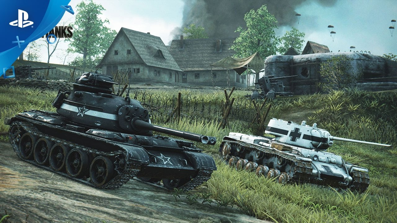World of Tanks – Dual Trainers Trailer | PS4