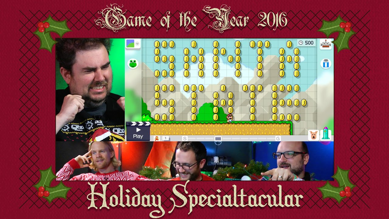 Holiday Specialtacular 2016: Making Merry Mario