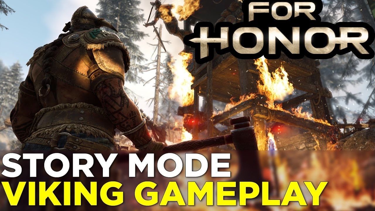 15 Minutes of FOR HONOR Viking Campaign Gameplay