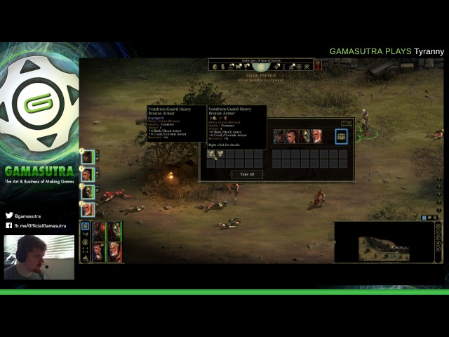 Gamasutra Plays Tyranny With Game Director Brian Heins