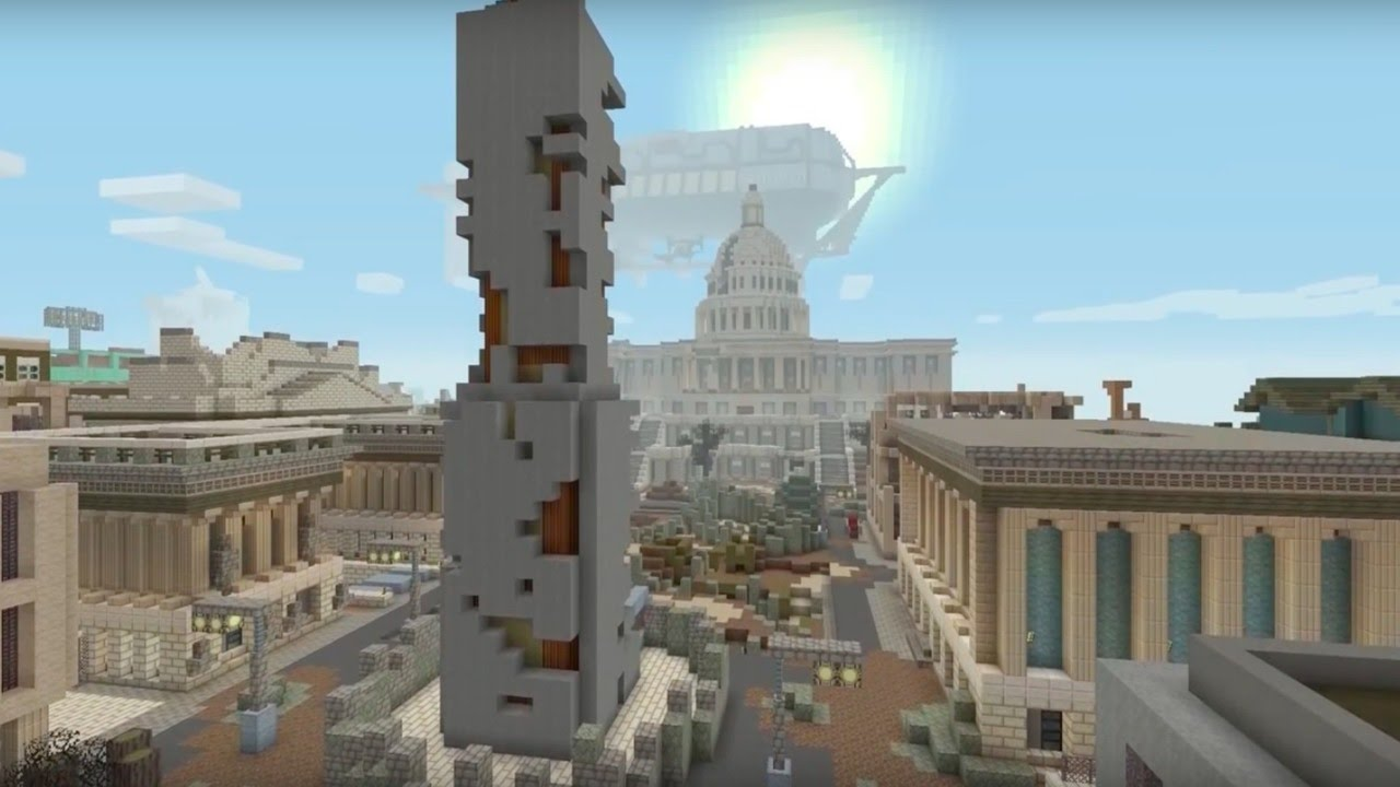 Minecraft Official Fallout Mash-Up Trailer