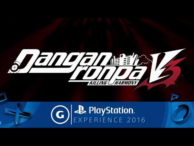 Danganronpa V3 – PSX 2016 Reveal Trailer