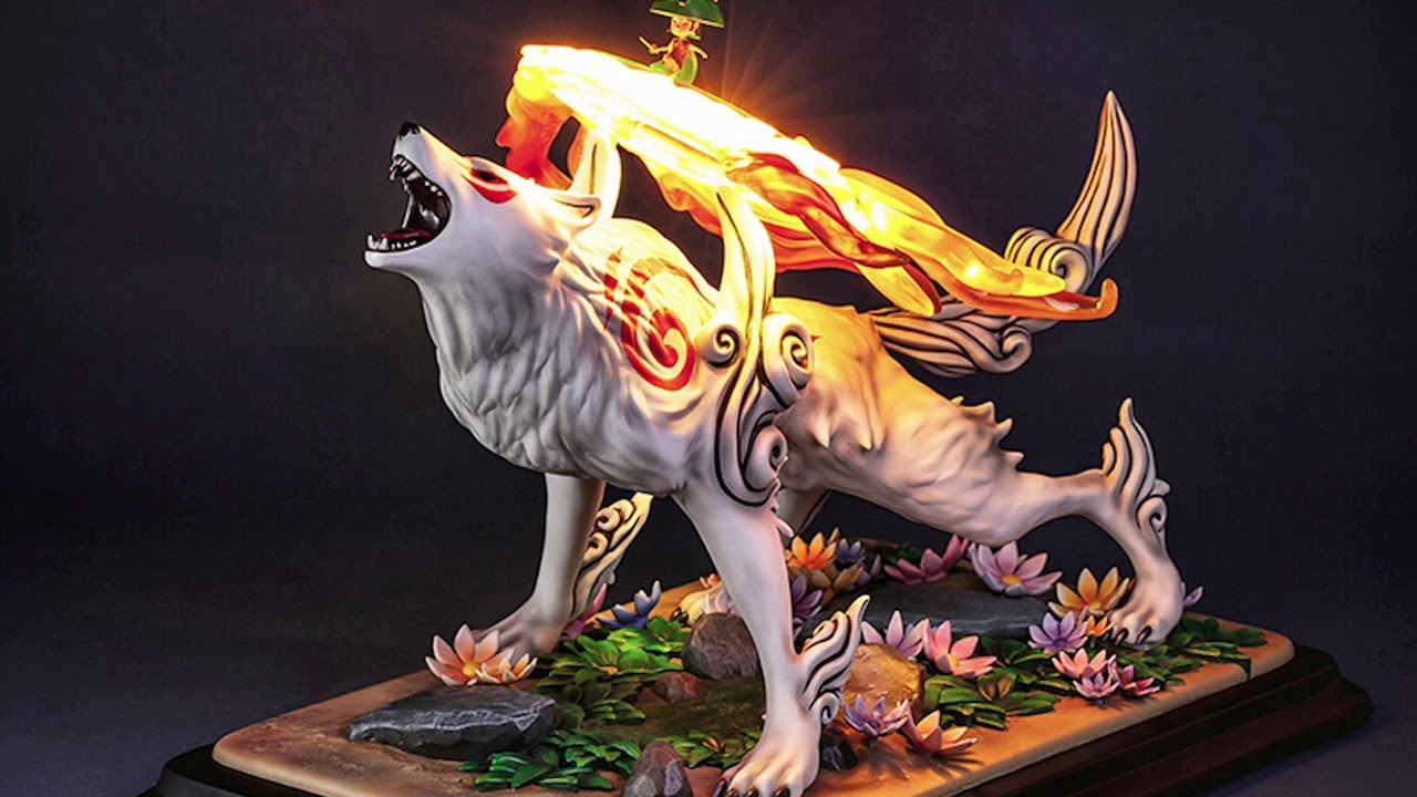 Unboxing a Giant Okami Figure