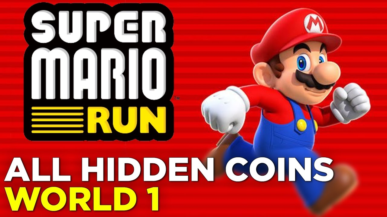 Super Mario Run – All Hidden Coins in World 1