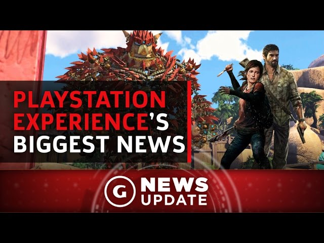 Last of Us Part 2, Uncharted 4 DLC, and all the Big Announcements From PSX – GS News Update