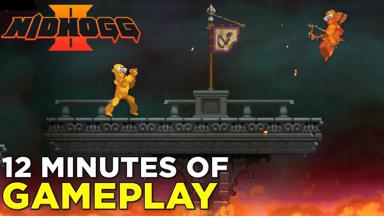 12 Minutes of NIDHOGG 2 Gameplay