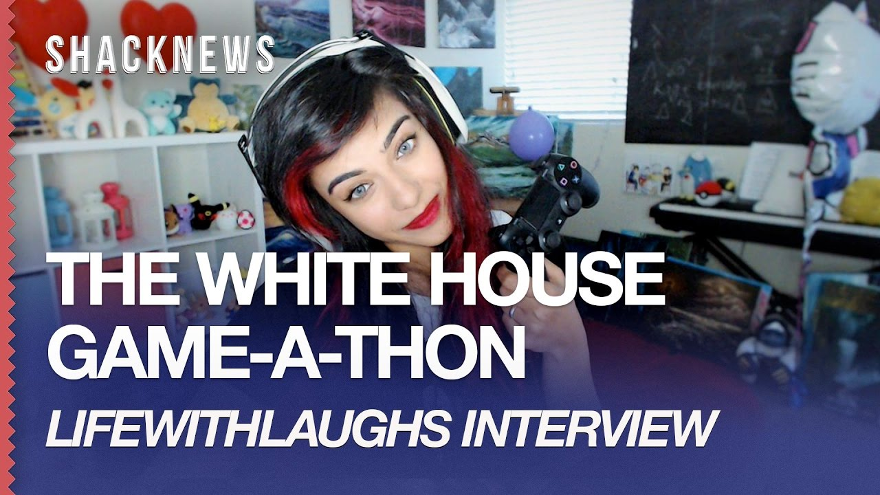 White House Game-A-Thon: LifeWithLaughs intereview