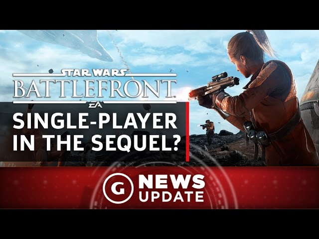 EA Basically Confirms Star Wars: Battlefront 2 Single-Player – GS News Update
