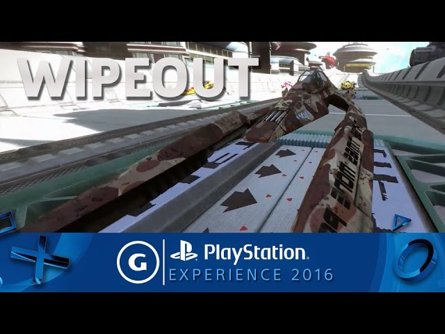 Wipeout: Omega Collection – PSX 2016 Trailer