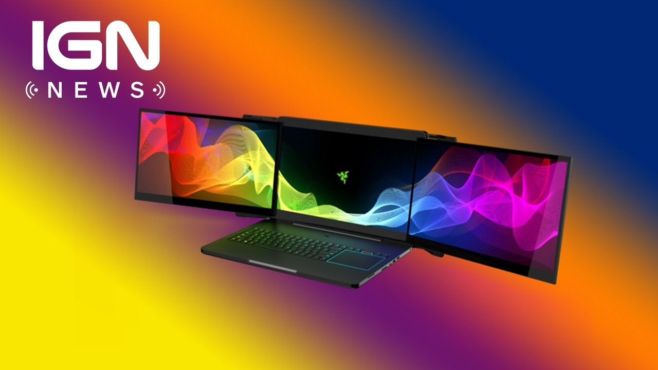 Razer Introduces Insane Triple-Monitor Gaming Laptop – IGN News