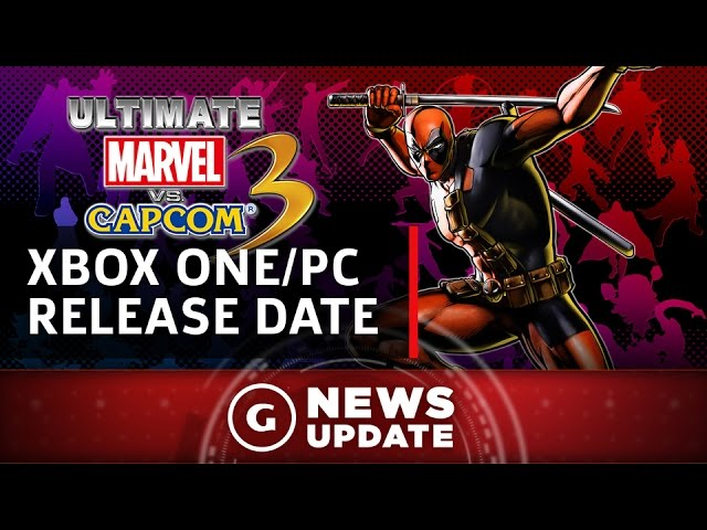 Ultimate Marvel vs Capcom 3 on Xbox One/PC Release Date Revealed – GS News Update
