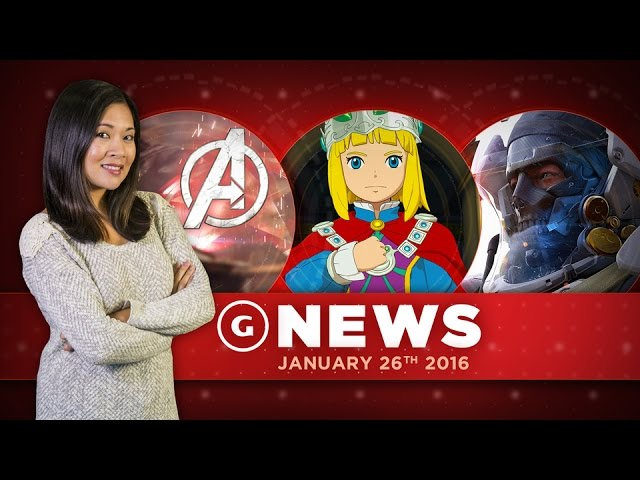 Ni No Kuni 2 PC Version Announced, New Avengers Game Coming – GS Daily News
