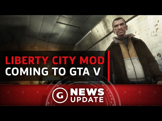 GTA 4's Liberty City Will Soon Be Playable within GTA 5 – GS News Update