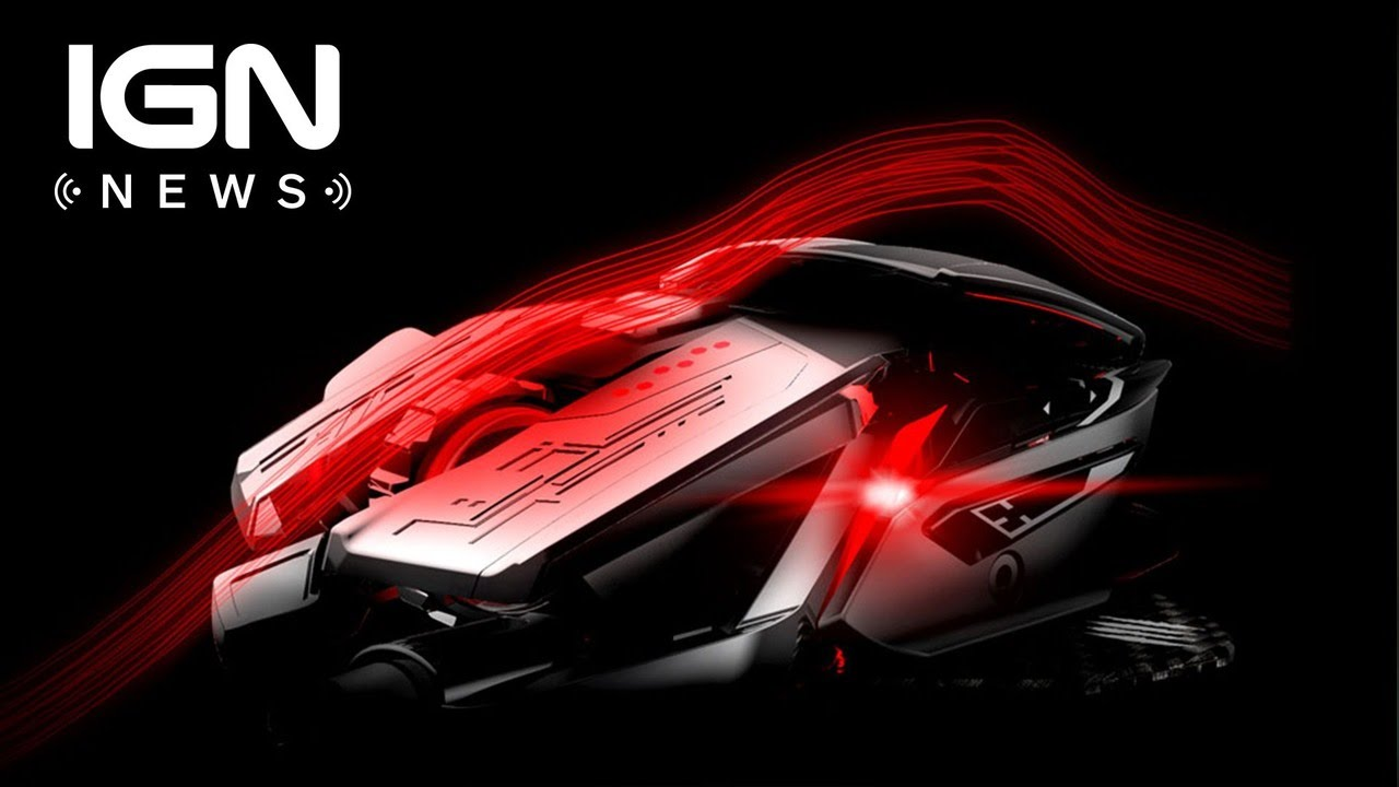 Mad Catz Reveals Its New Flagship RAT Mouse – IGN News
