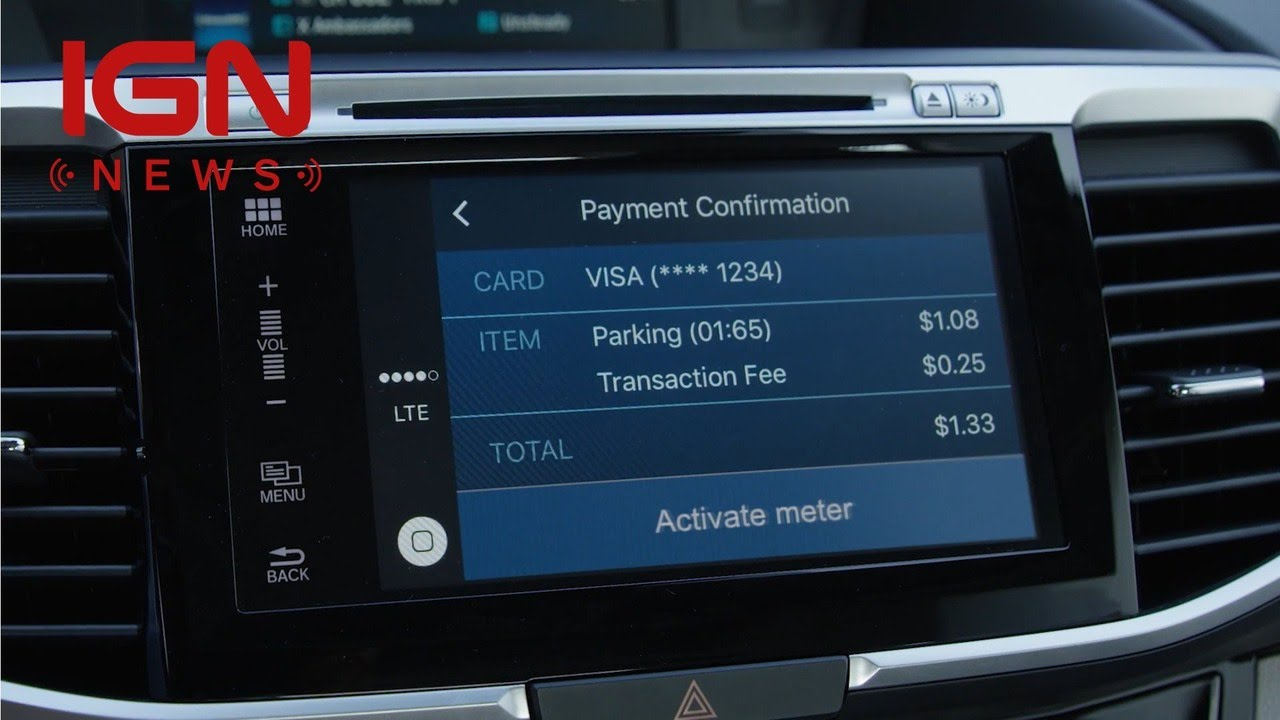 Honda's New Payment System Is Like Apple Pay for Your Car – IGN News