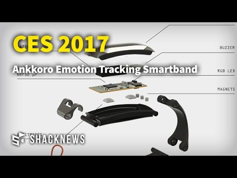 CES 2017: Ankkoro Emotion Tracking Smartband