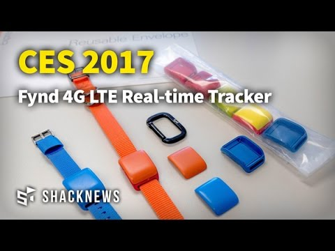 CES 2017: Fynd 4G LTE Real-time Tracker