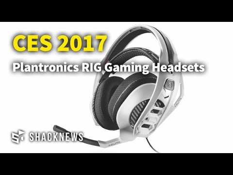 CES 2017: Plantronics Showcases RIG Gaming Headsets