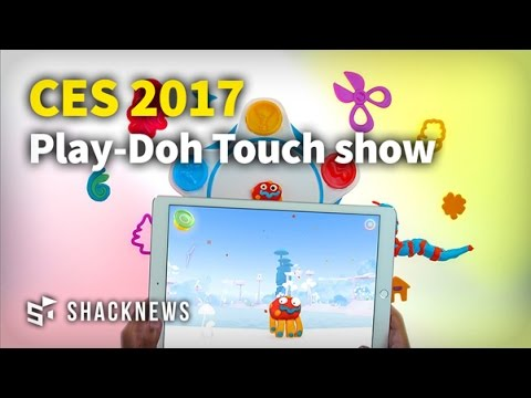 CES 2017: Play-Doh Touch Shape to Life Studio