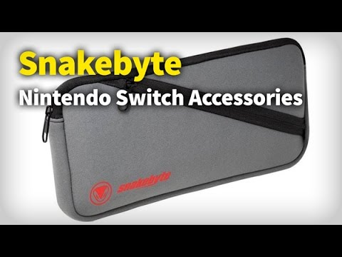 CES 2017: Snakebyte Nintendo Switch Accessories