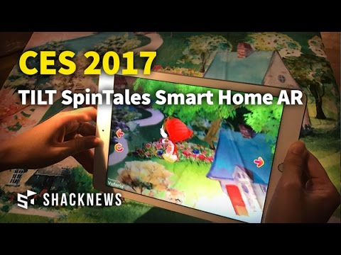 CES 2017: TILT SpinTales Smart Home AR