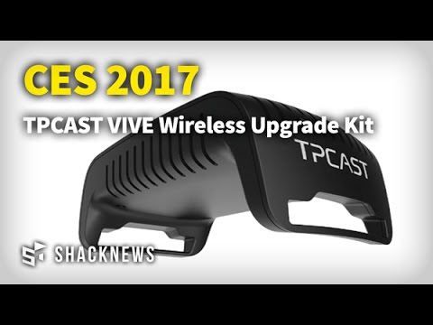 CES 2017: TPCast VIVE Wireless Upgrade Kit