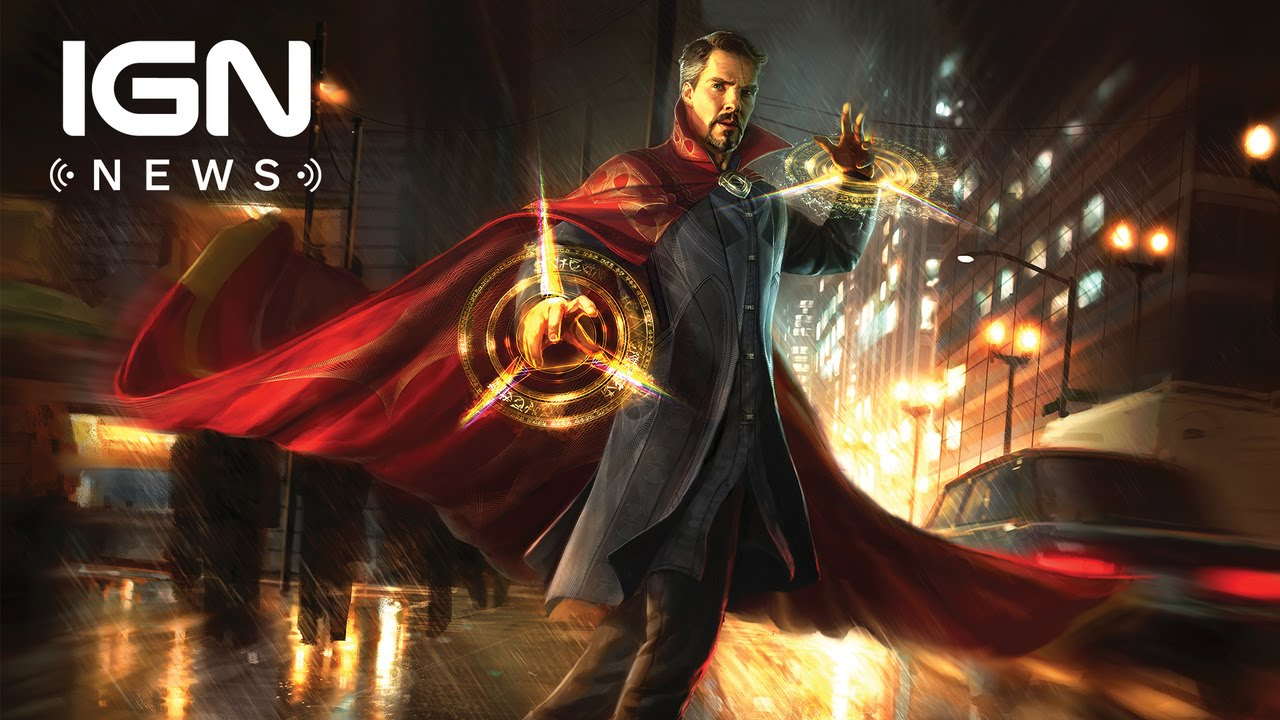 Doctor Strange Blu-ray Release Date and Cover Art Revealed – IGN News