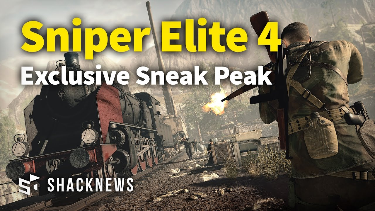 Exclusive Sneak Peak at Sniper Elite 4