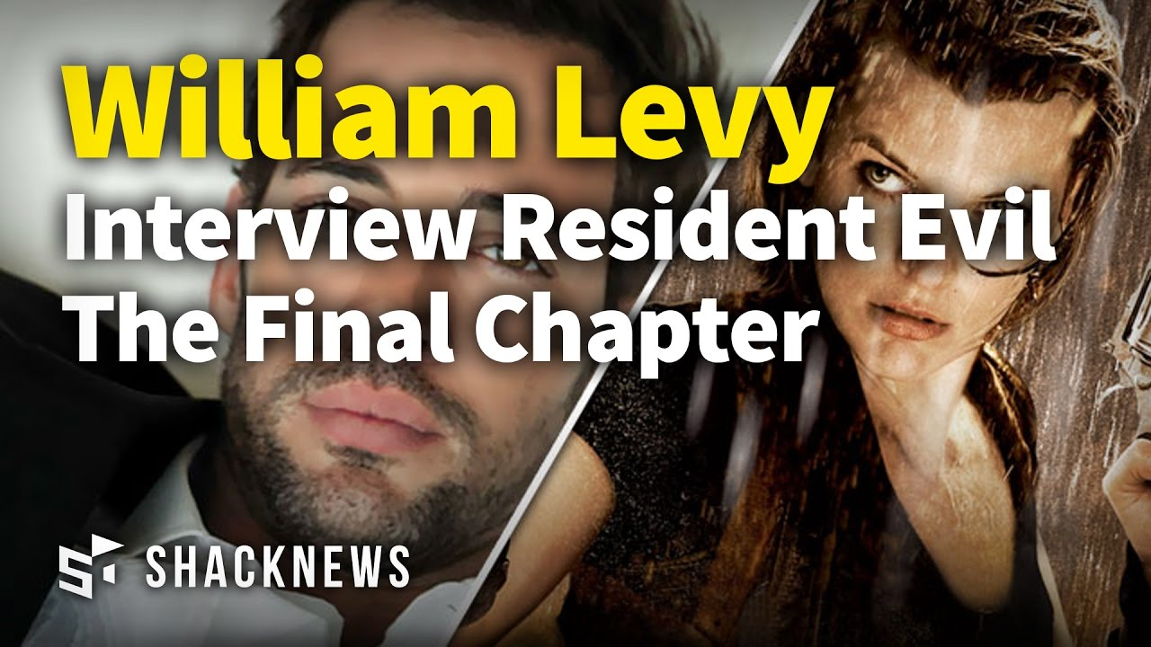 Resident Evil The Final Chapter Interview: Exclusive William Levy Interview Resident Evil The Final