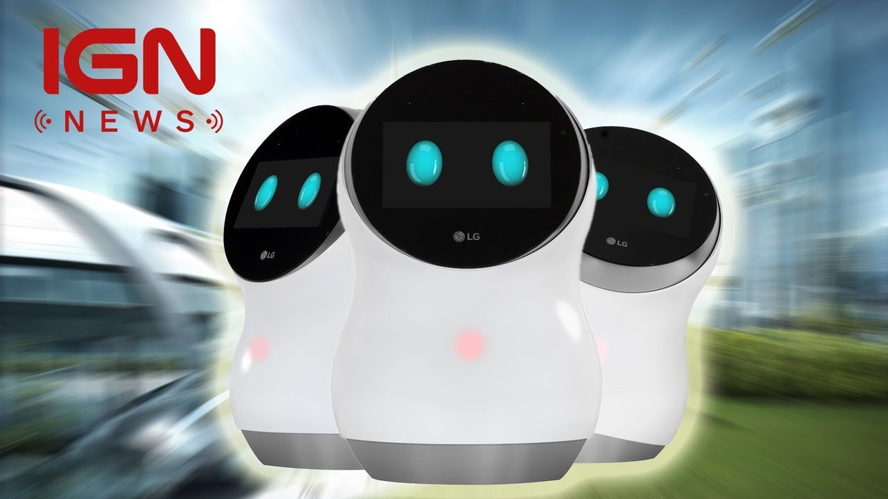 Adorable LG Robots Will Clean Airports, Mow Your Lawn – IGN News