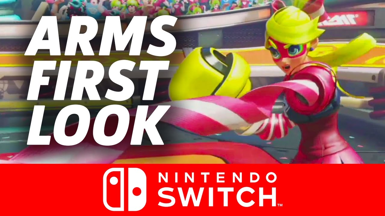 First Look at Arms – Nintendo Switch Presentation 2017
