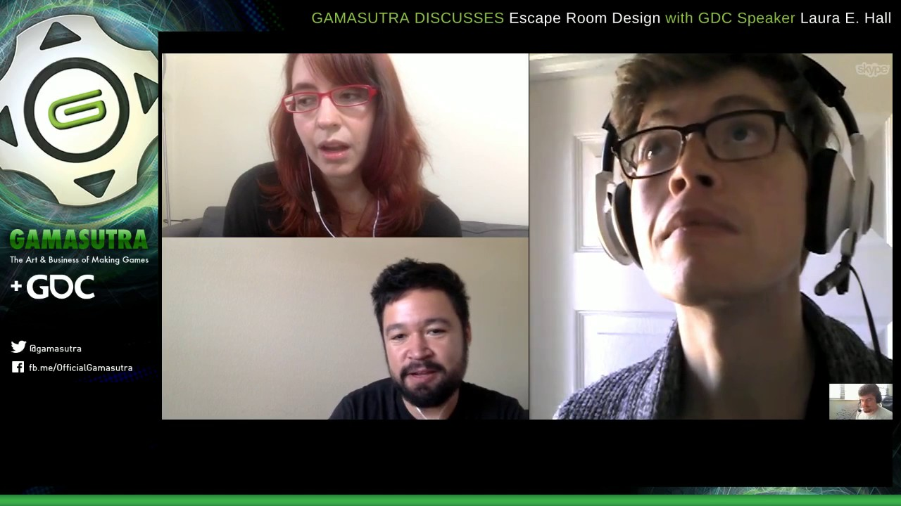 Gamasutra talks to Escape Room #gamedev Laura Hall
