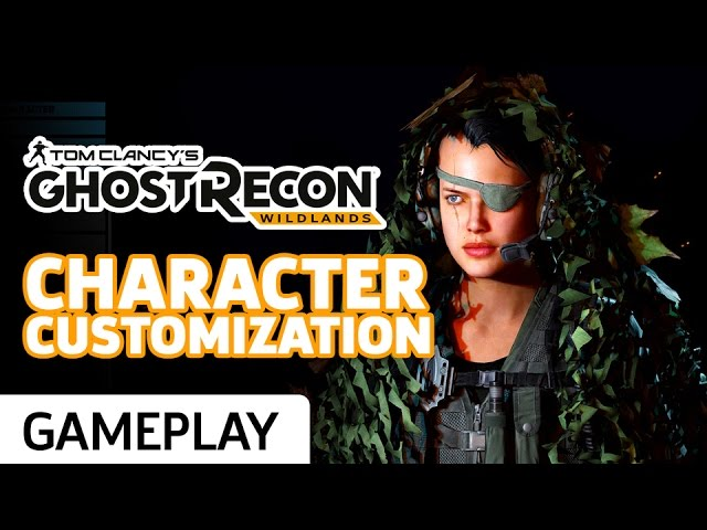 Ghost Recon: Wildlands – Character Customization Gameplay