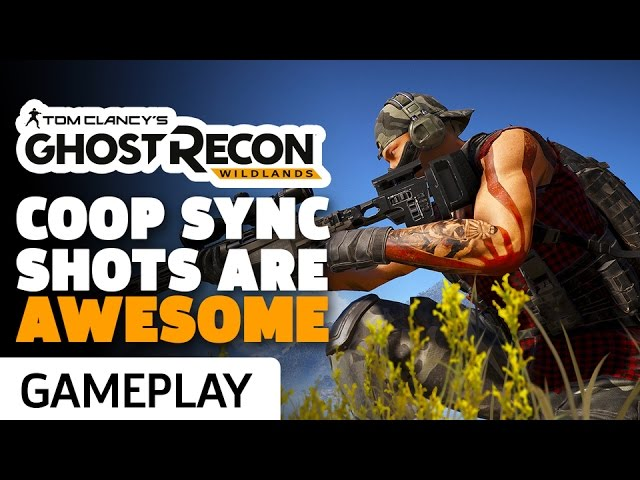 Ghost Recon Wildlands: Tactical Sync Shot Gameplay
