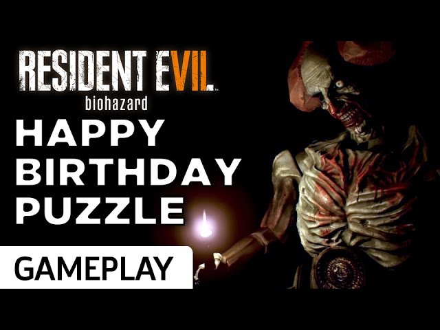 "How to Solve Resident Evil 7's ""Happy Birthday"" Puzzle"