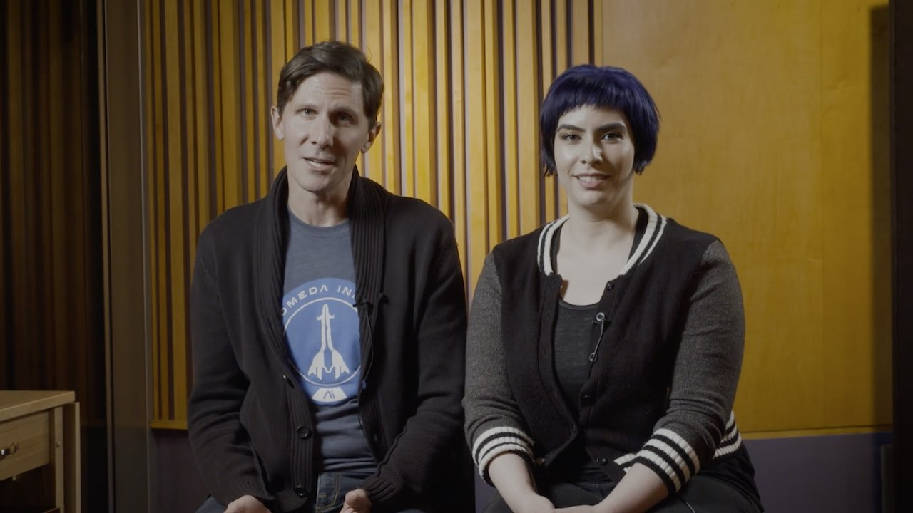 Mass Effect Andromeda: Meet the Voices of Scott and Sara Ryder